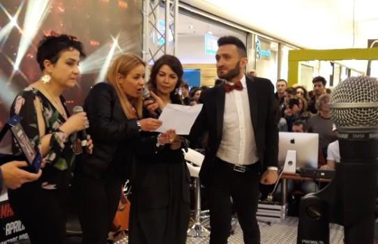 """Con Cristina D'Avena al Concorso """"Lasciatemi cantaaare"""""""